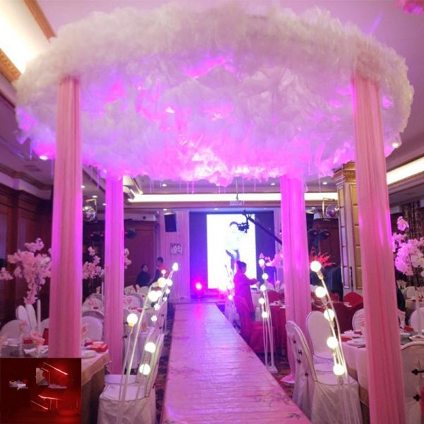 New-Arrival-White-Cloud-Top-Snow-Yarn-Wedding-Ceiling-Decoration-Sheer-For-Wedding-Event-Centerpieces-Decor-5