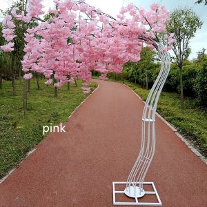 Cherry Flower Tree Road  Arch Wedding Decoration  Bride and Groom Photographing Props Many Colors Available new year eve party pirate party xmas christmas  party