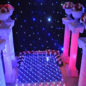 LED Luminous Plastic Roman Column Wedding Events Welcome Area Decoration Photo Booth Props Supplies 4pcs/lot  graduation decorations
