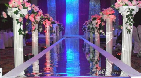 White-Plastic-Roman-Columns-Road-Cited-For-Wedding-Favors-Party-Decorations-Hotels-Shopping-Malls-Opened-Welcome-3