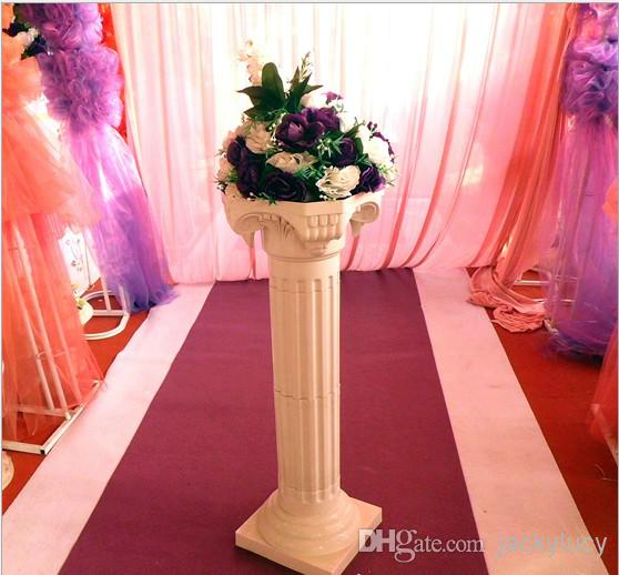 White-Plastic-Roman-Columns-Road-Cited-For-Wedding-Favors-Party-Decorations-Hotels-Shopping-Malls-Opened-Welcome-5