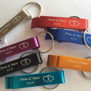 Bulk engraved bottle openers bridal bachelor prom gifts Save The Date wedding Invitation