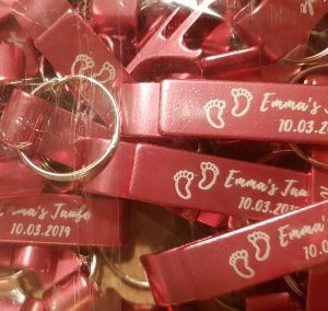 affordable bottle openers bulk customized wedding gifts kid Baptism baby shower gifts