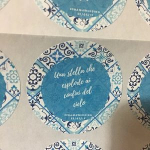 wedding favor sticker personalized 100 pcs customized wedding labels high quality