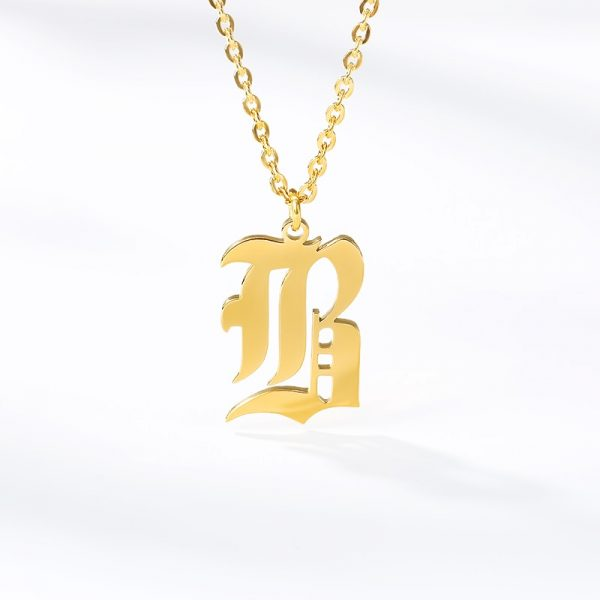 Gold-Color-26-Letters-Jewelry-Old-English-Alphabe-Necklaces-for-Women-Choker-A-B-C-D-1