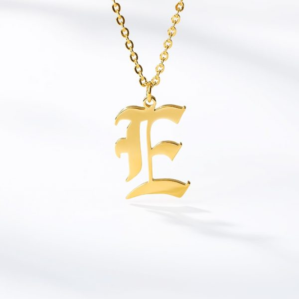 Gold-Color-26-Letters-Jewelry-Old-English-Alphabe-Necklaces-for-Women-Choker-A-B-C-D-4