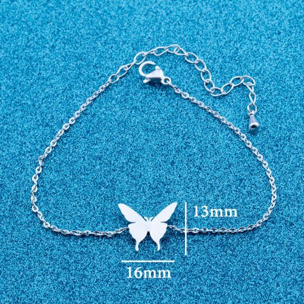 Lovely-Butterfly-Charm-Bracelet-for-Kids-Women-Friendship-Best-Friend-Gift-Butterflies-Bracelet-Bangle-Stainless-Steel-1