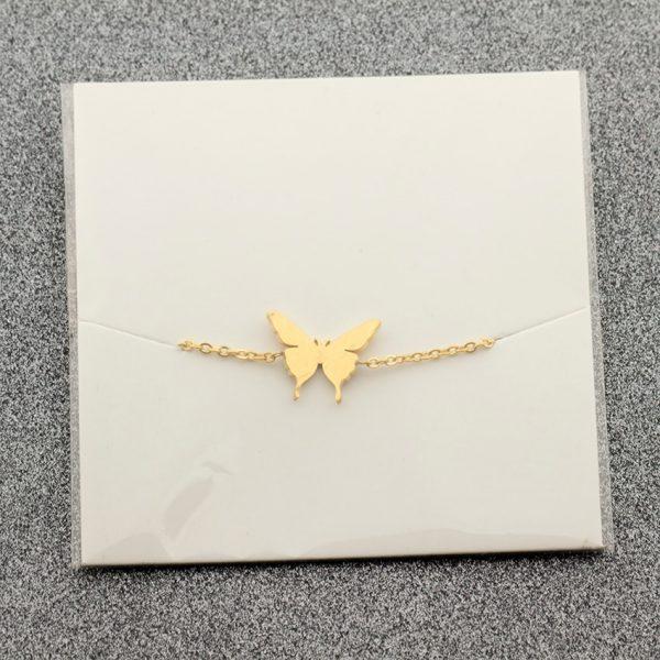 Lovely-Butterfly-Charm-Bracelet-for-Kids-Women-Friendship-Best-Friend-Gift-Butterflies-Bracelet-Bangle-Stainless-Steel-4