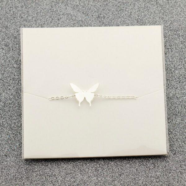 Lovely-Butterfly-Charm-Bracelet-for-Kids-Women-Friendship-Best-Friend-Gift-Butterflies-Bracelet-Bangle-Stainless-Steel-5