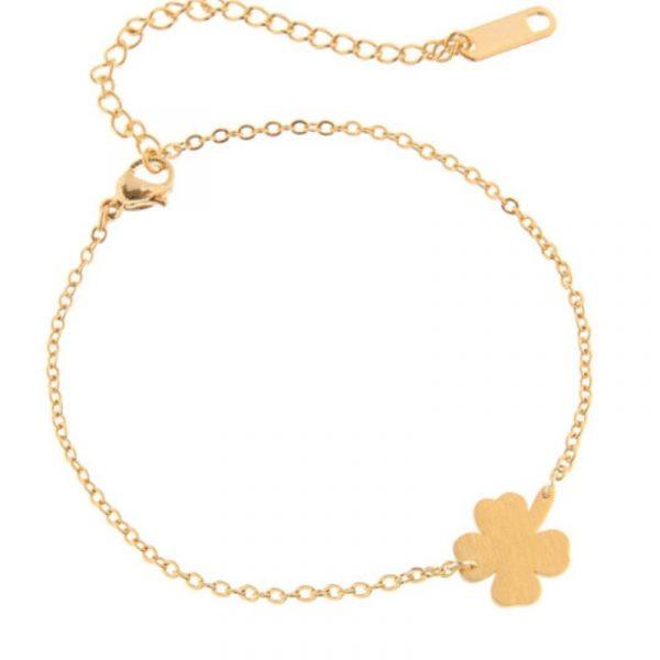 Stainless-Steel-Good-Luck-Four-leaf-Clover-Bracelet-For-Women-Shamrock-St-Patrick-s-Day-Best-1