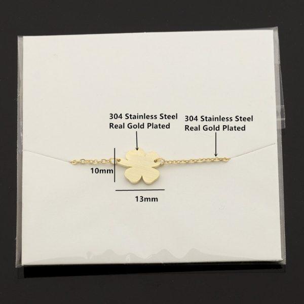 Stainless-Steel-Good-Luck-Four-leaf-Clover-Bracelet-For-Women-Shamrock-St-Patrick-s-Day-Best-3