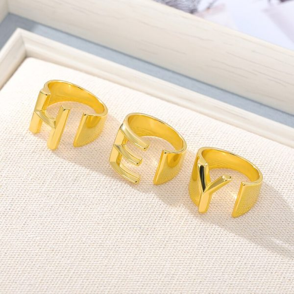 Thumb-Hollow-A-Z-Letter-Gold-Color-Metal-Adjustable-Opening-Ring-Initials-Name-Alphabet-Female-Party-4