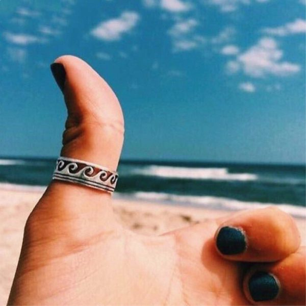 Wave-Ring-Stainless-Steel-Knuckle-Ocean-Wire-Wrap-Surf-Rings-For-Women-Beach-Tidal-Jewelry-Midi