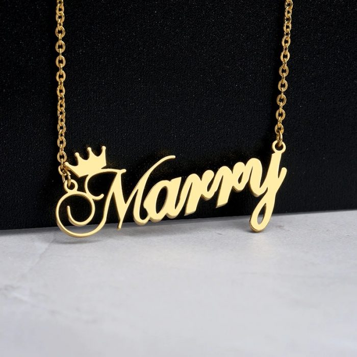 custom-nameplate-personalized-crown-name-necklace-for-girls-kids-silver-rose-gold-stainless-steel-sentimental-gift-best-friend2