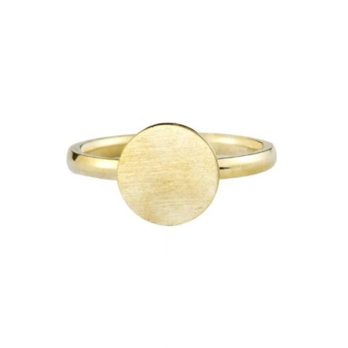 rose-gold-color-full-moon-rings-stainless-steel-band-simple-brushed-circle-round-finger-ring