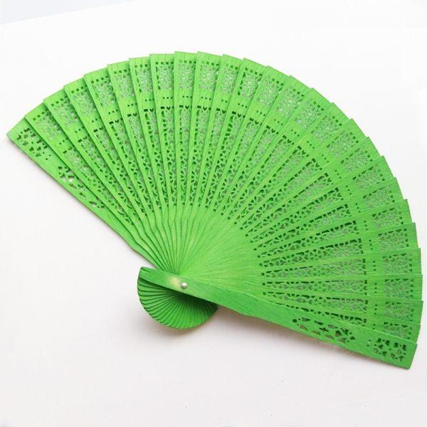 green-sandalwood-fan