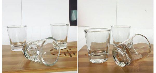 round-shot-glass