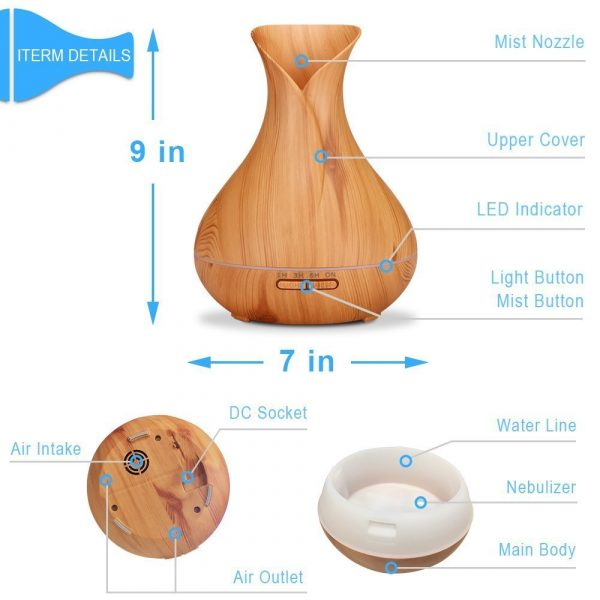 500ML-Ultrasonic-Remote-Control-Air-Humidifier-Aroma-Diffuser-7-Color-Changing-LED-Light-Smart-Electric-Essential-5