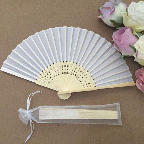 50pcs-White-Drawstring-Organza-Folding-Hand-Fan-Pouch-Party-Wedding-Favor-Gift-Bags-ABUX-4