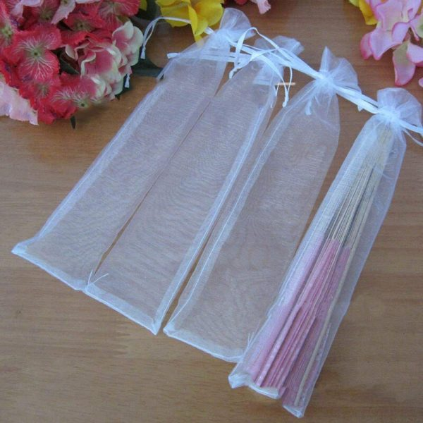 50pcs-White-Drawstring-Organza-Folding-Hand-Fan-Pouch-Party-Wedding-Favor-Gift-Bags-ABUX-5