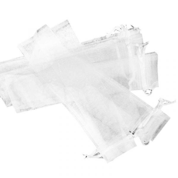 50pcs-White-Drawstring-Organza-Folding-Hand-Fan-Pouch-Party-Wedding-Favor-Gift-Bags-ABUX