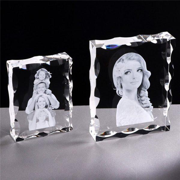 Photo-Custom-K9-Crystal-Photo-Frame-Personalize-Laser-Engraved-Photo-Album-Square-Picture-Wedding-Gift-Souvenir-3