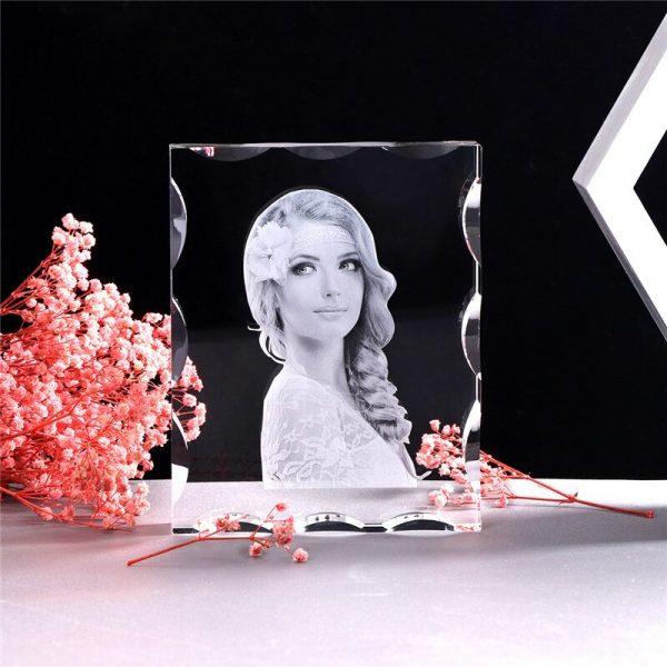Photo-Custom-K9-Crystal-Photo-Frame-Personalize-Laser-Engraved-Photo-Album-Square-Picture-Wedding-Gift-Souvenir-5