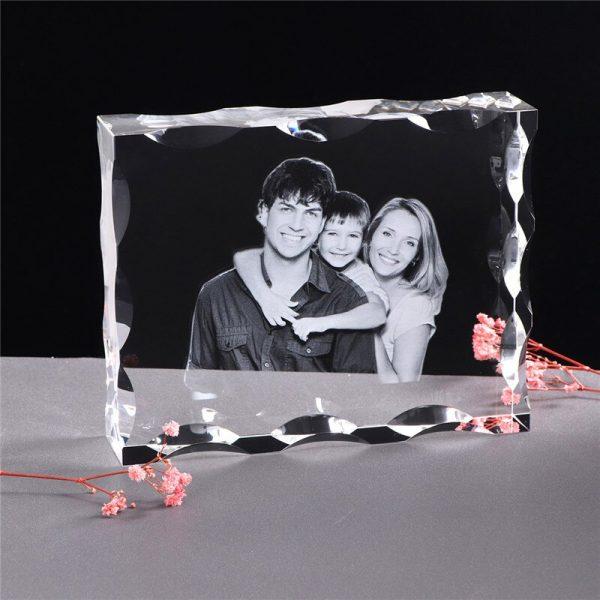 Photo-Custom-K9-Crystal-Photo-Frame-Personalize-Laser-Engraved-Photo-Album-Square-Picture-Wedding-Gift-Souvenir