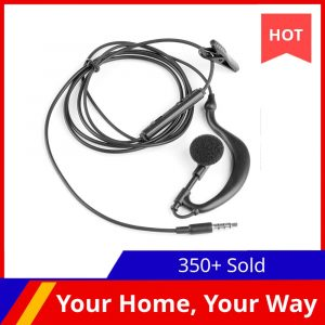 3-5mm-Single-In-Ear-Only-Mono-Earphone-Earbud-Headphone-w-Mic-For-Phone-for-Samsung