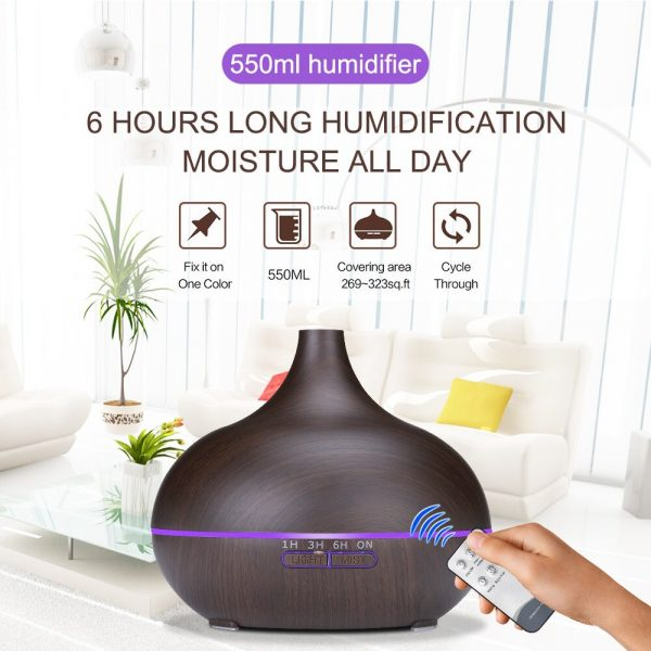 550ML-Electric-Aroma-Diffuser-Ultrasonic-Air-Humidifier-LED-Lamp-Aromatherapy-Mist-Maker-Remote-Control-Essential-Oil-1