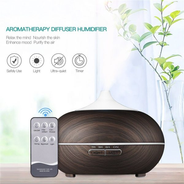 550ML-Electric-Aroma-Diffuser-Ultrasonic-Air-Humidifier-LED-Lamp-Aromatherapy-Mist-Maker-Remote-Control-Essential-Oil-4