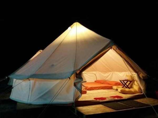 free-shipping-glamping-holiday-4m-Dia-oxford-canvas-waterproof-camping-tent-bell-tent-3