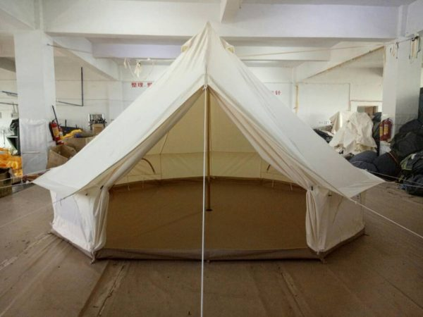 free-shipping-glamping-holiday-4m-Dia-oxford-canvas-waterproof-camping-tent-bell-tent-4